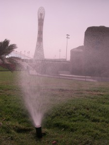 Irrigation in the Aspire Zone